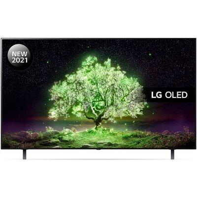 "48"" LG OLED48A16LA  Smart 4K Ultra HD HDR OLED TV with Google Assistant & Amazon Alexa"