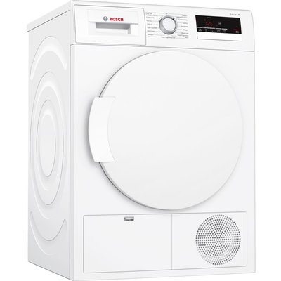 Bosch Tumble Dryer WTN83200GB Condenser  - White, White