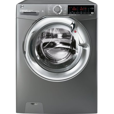 HOOVER H-Wash 300 H3DS696TAMCGE NFC 9 kg Washer Dryer - Graphite, Graphite