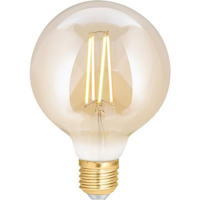 WIZ CONNECTED Whites Filament Dimmable Smart LED Light Bulb - E27, Yellow, Yellow