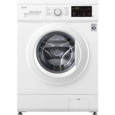 LG Direct Drive F4MT08WE 8 kg 1400 Spin Washing Machine - White, White