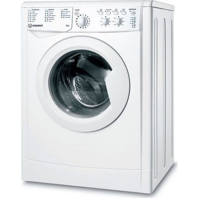 INDESIT IWC 71452 W UK N 7 kg 1400 Spin Washing Machine – White, White
