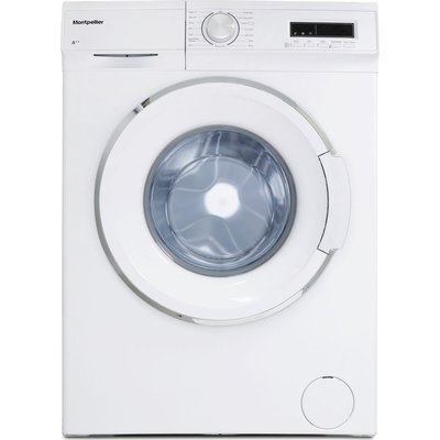 MONTPELLIER MW7120P 7 kg 1200 Spin Washing Machine - White, White