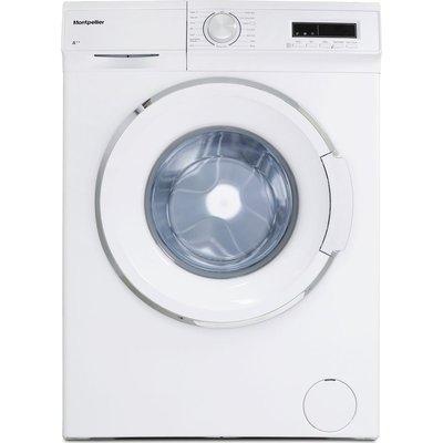 MONTPELLIER MW7120P 7 kg 1200 Spin Washing Machine - White, White