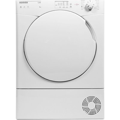 HOOVER Link HLC9LF Smart 9 kg Condenser Tumble Dryer - White, White