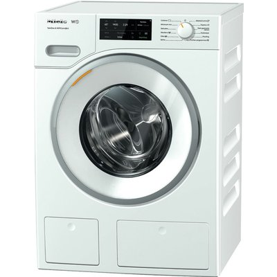 MIELE TwinDos WWE660 Smart 8 kg 1400 Spin Washing Machine - White, White