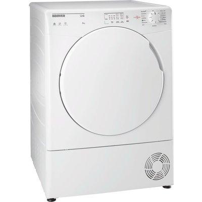 HOOVER Link HL C8LF NFC 8 kg Condenser Tumble Dryer - White, White