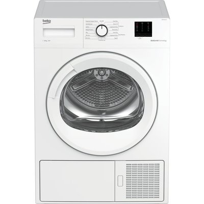 Pro DTBP10011W 10 kg Heat Pump Tumble Dryer - White, White