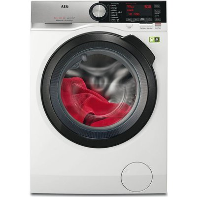 AEG Softwater 9000 L9FSC969R 9 kg 1600 Spin Washing Machine - White, White