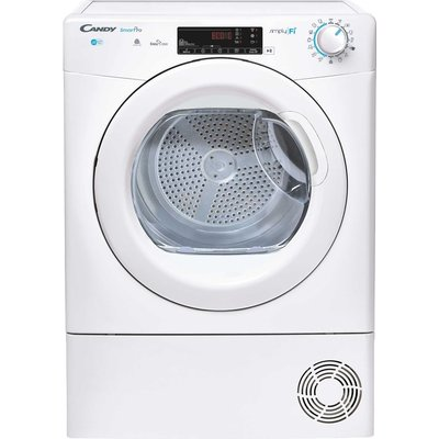 CANDY Smart Pro CSO C9TG WiFi-enabled 9 kg Condenser Tumble Dryer - White, White