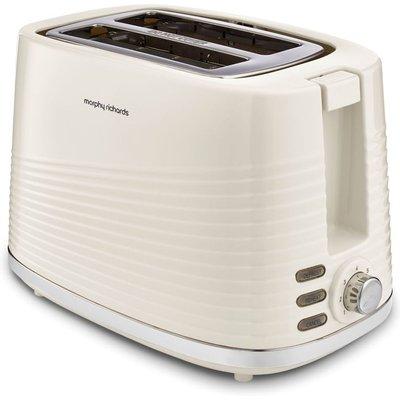 MORPHY RICHARDS Dune 220027 2 Slice Toaster   Cream  Cream - 5011832066787