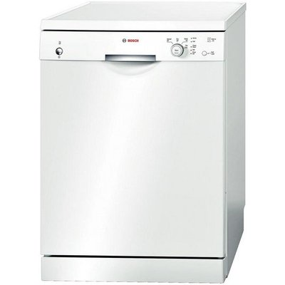 BOSCH SMS40T32GB Full-size Dishwasher - White, White