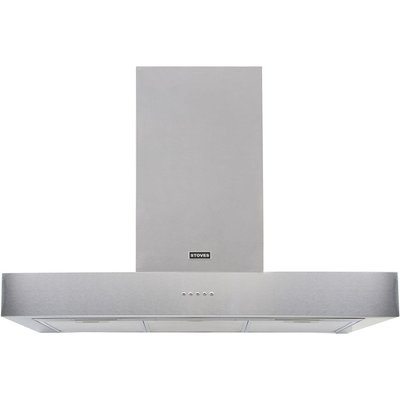 Stoves Sterling S900 Chimney Cooker Hood   Stainless Steel - 5052263028548