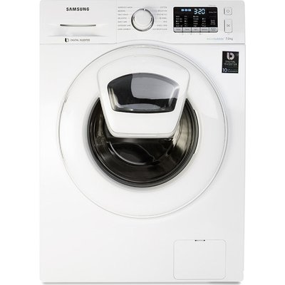 SAMSUNG AddWash WW70K5410WW/EU Washing Machine - White, White