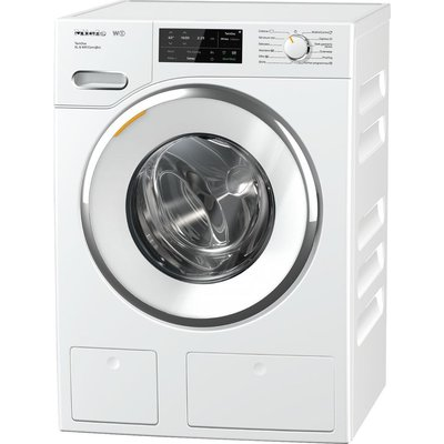 MIELE TwinDos XL WWI660 Smart 9 kg 1600 Spin Washing Machine - White, White