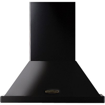 RANGEMASTER  LEIHDC70BC Chimney Cooker Hood   Black  Black - 5028683078401
