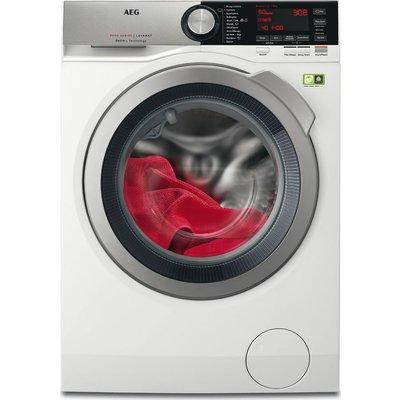 AEG OkoMix L8FEC846R Washing Machine - White, White