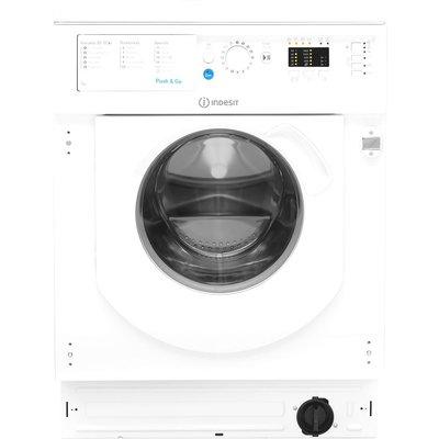 INDESIT BI WMIL 71452 UK Integrated 7 kg 1400 Spin Washing Machine - White, White