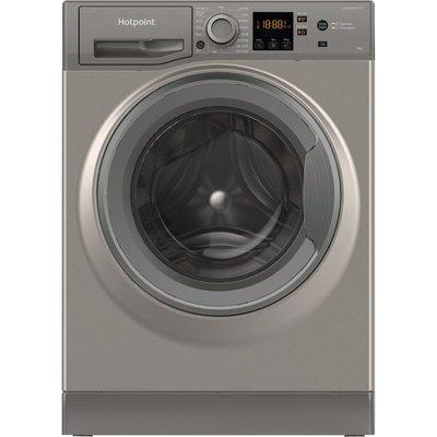 HOTPOINT NSWR 944C GK UK N 9 kg 1400 Spin Washing Machine - Graphite, Graphite