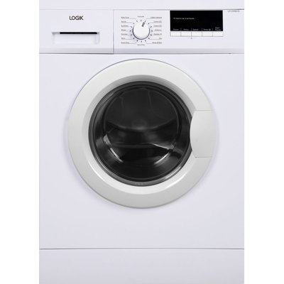 LOGIK L612WM16 Washing Machine - White, White