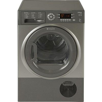 Hotpoint Tumble Dryer Futura SUTCD97B6GM Condenser  - Graphite, Graphite