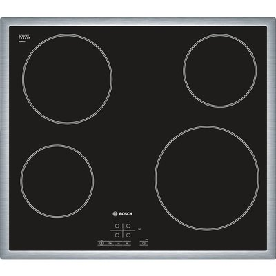 BOSCH Serie 4 PKE645B17E Electric Ceramic Hob   Black  Black - 4242002724362