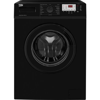 BEKO WTG641M1B 6 kg 1400 Spin Washing Machine - Black, Black