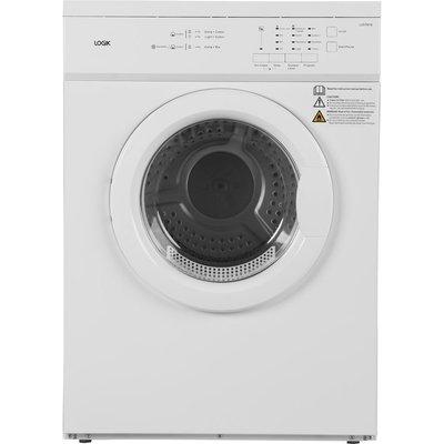 LOGIK LVD7W18 7 kg Vented Tumble Dryer - White, White