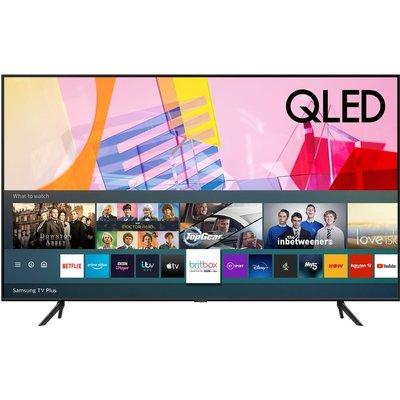 "75"" SAMSUNG QE75Q60TAUXXU  Smart 4K Ultra HD HDR QLED TV with Bixby, Alexa & Google Assistant"