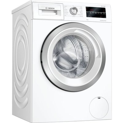 BOSCH Serie 6 WAU28T64GB 9 kg 1400 Spin Washing Machine - White, White