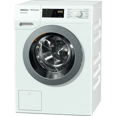 MIELE WDD030 EcoPlus & Comfort Washing Machine - White, White