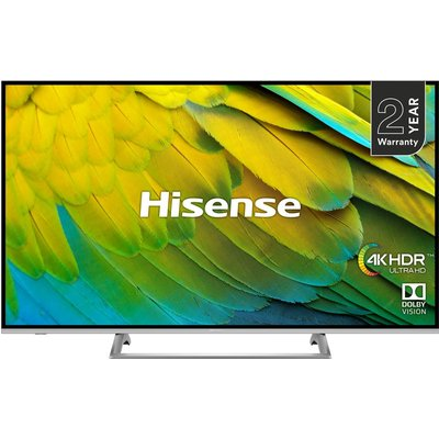 HISENSE H43B7500UK 43 Smart 4K Ultra HD HDR LED TV