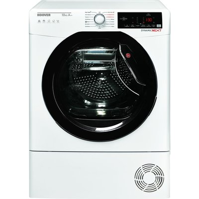 HOOVER Dynamic Next DX HY10A2TKE Smart 10 kg Heat Pump Tumble Dryer - White with Tinted Door, White