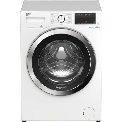 Beko Pro AquaTech WX104044E0W Bluetooth 10 kg 1400 Spin Washing Machine - White, White