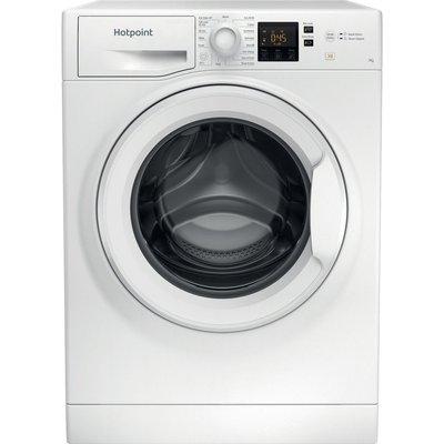 HOTPOINT NSWR 742U WK UK N 7 kg 1400 Spin Washing Machine - White, White