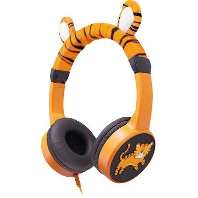 PLANET BUDDIES PBTIGHP Kids Headphones   Charlie the Tiger - 5030578437989