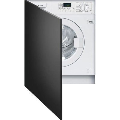 SMEG WMI14C7-2 Integrated Washing Machine - White, White