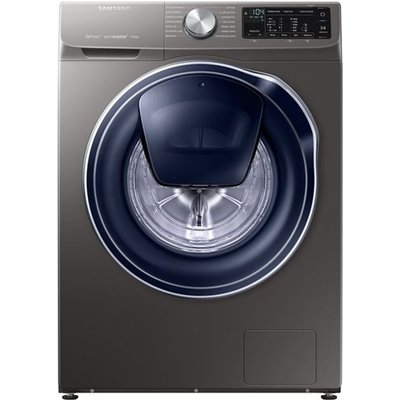 Samsung QuickDrive  AddWash WW90M645OPX Smart 9 kg 1400 Spin Washing Machine - Graphite, Graphite