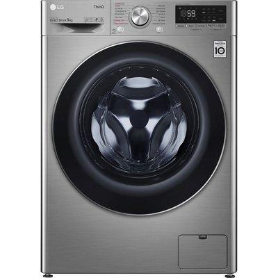 LG TurboWash with AI DD V7 F4V709STSE WiFi-enabled 9 kg 1400 Spin Washing Machine - Graphite, Graphite