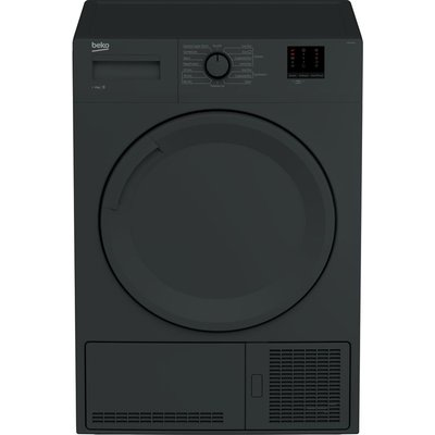 Beko Tumble Dryer DTBC8001A 8 kg Condenser  - Black, Anthracite
