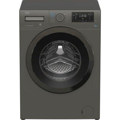 Beko Washer Dryer WDX8543130G 8 kg  - Graphite, Graphite