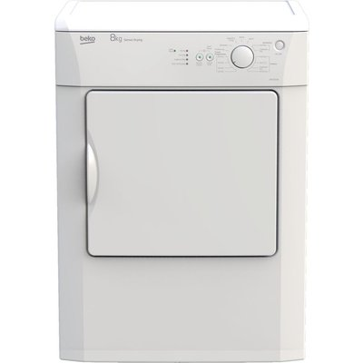 BEKO DRVS83W 8 kg Vented Tumble Dryer - White, White