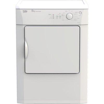 BEKO DRVS83W 8 kg Vented Tumble Dryer - White, White