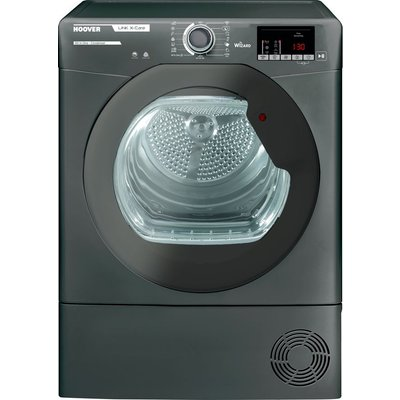 HOOVER Link X Care HLX C9DRGR WiFi-enabled 9 kg Condenser Tumble Dryer - Graphite, Graphite
