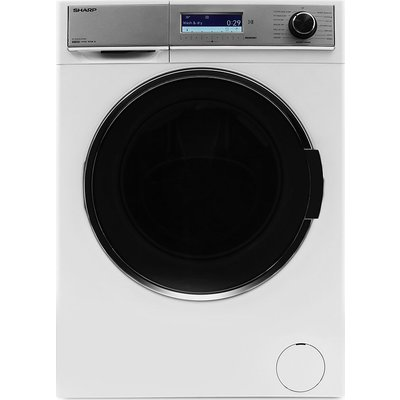 Sharp Washer Dryer ES-HDD0147W0 10 kg  - White, White