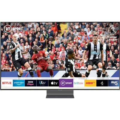 SAMSUNG QE75Q90RATXXU 75? Smart 4K Ultra HD HDR QLED TV with Bixby, Blue