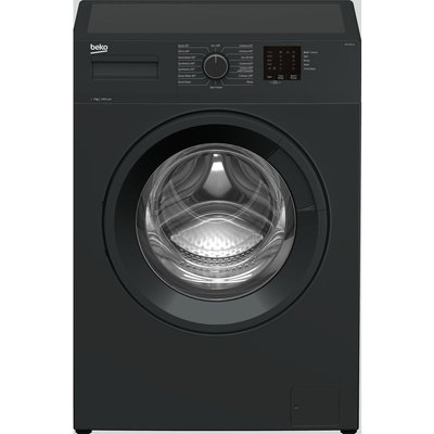 BEKO WTK74011A 7 kg 1400 Spin Washing Machine - Anthracite, Anthracite