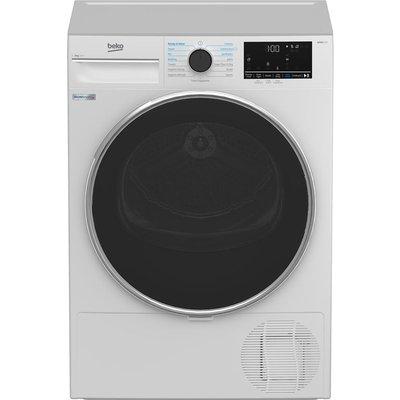 BEKO B5T4923IW 9 kg Heat Pump Tumble Dryer - White, White