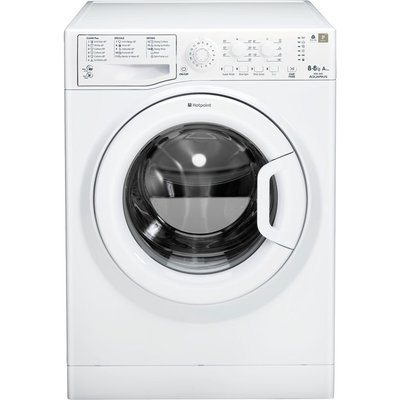 Hotpoint Washer Dryer WDAL8640P  - White, White