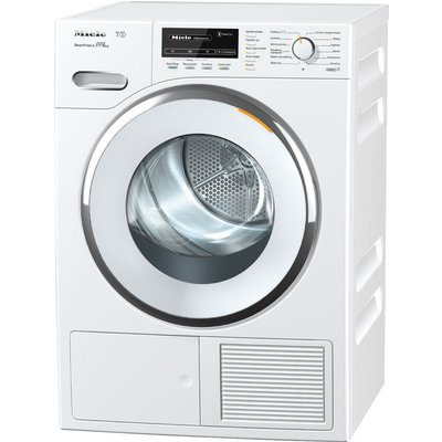 Miele Tumble Dryer TMG840 WP Heat Pump  - White, White